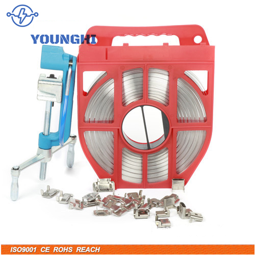 Stainless Steel pole banding and cable tie